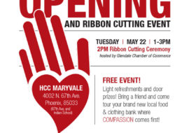 Grand Opening / Ribbon Cutting of HCC Maryvale