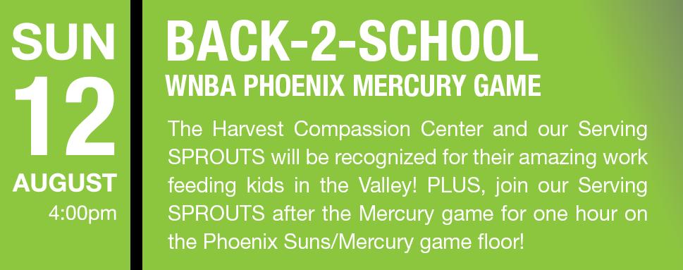 WNBA Phoenix Mercury Game August 12, 2018